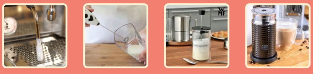 Solo con heaven barista puoi ottenere una schiuma perfetta e montare il latte d'avena per il cappuccino e caffè macchiato. Alpro, adez, valsoia e isola bio non montano.